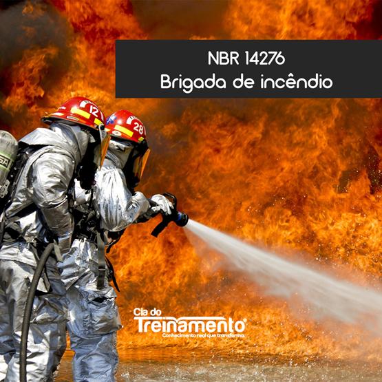 NBR-14.276    BRIGADA DE INCÊNDIO