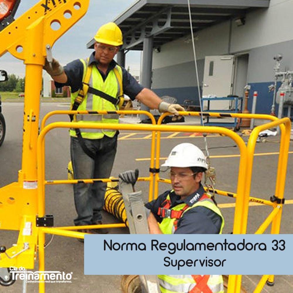 Treinamento NR-33 - Supervisor