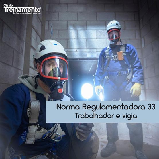 Treinamento NR-33 - Trabalhador e Vigia